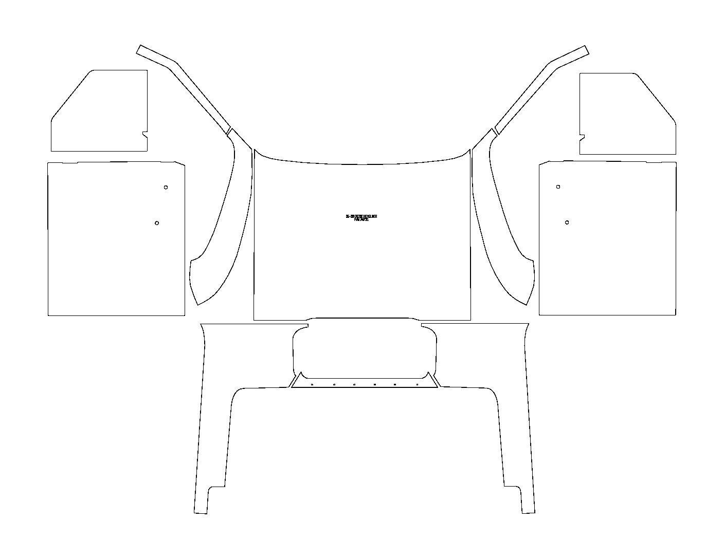 36-38 Dodge Truck Interior Kit
