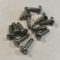 48-53 Dash Bezel Mount Screws - 12 each