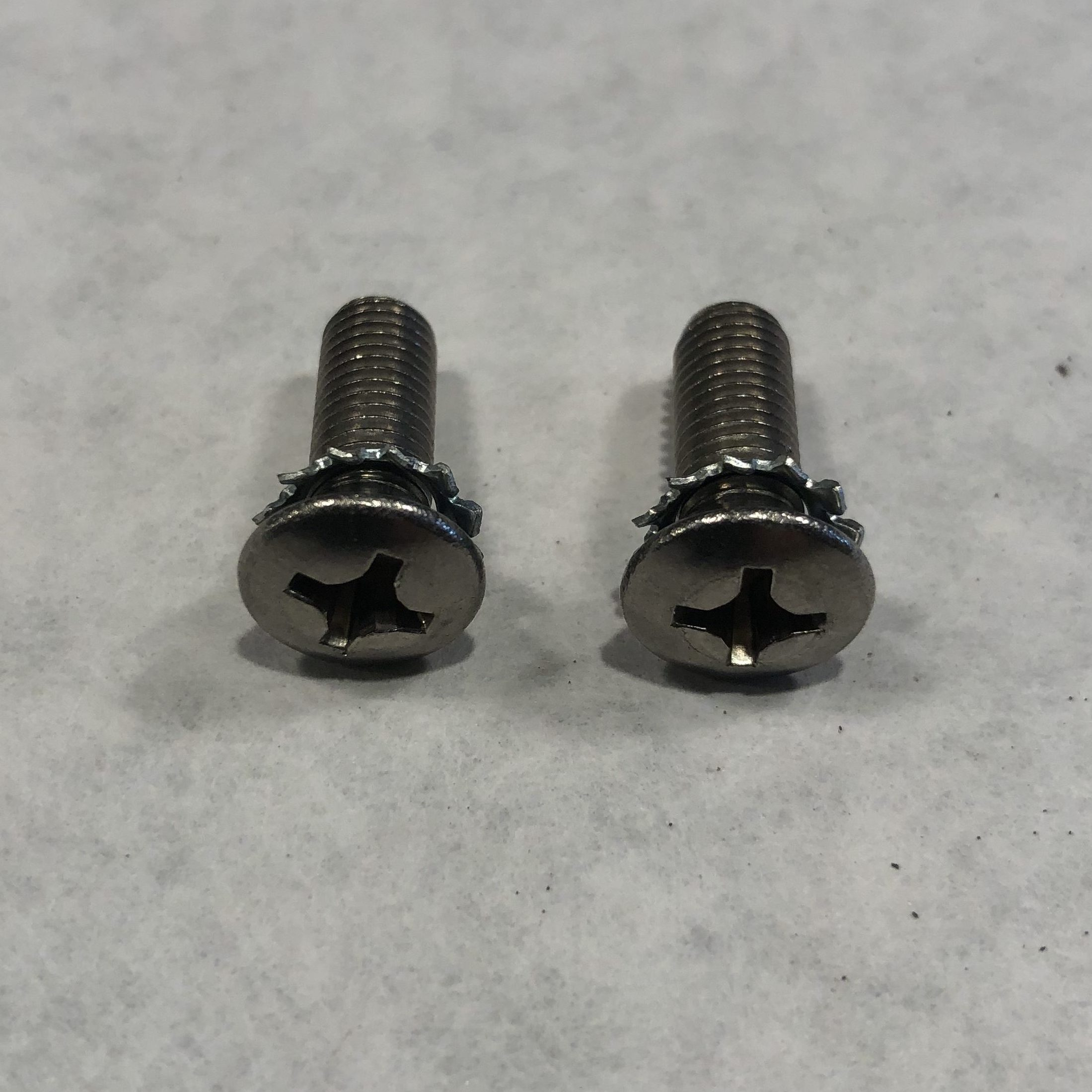 48-53 SS Door Latch Screws And Star Washers