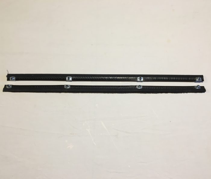 54-56 DODGE R_L DOOR WINDOW BRUSH SET