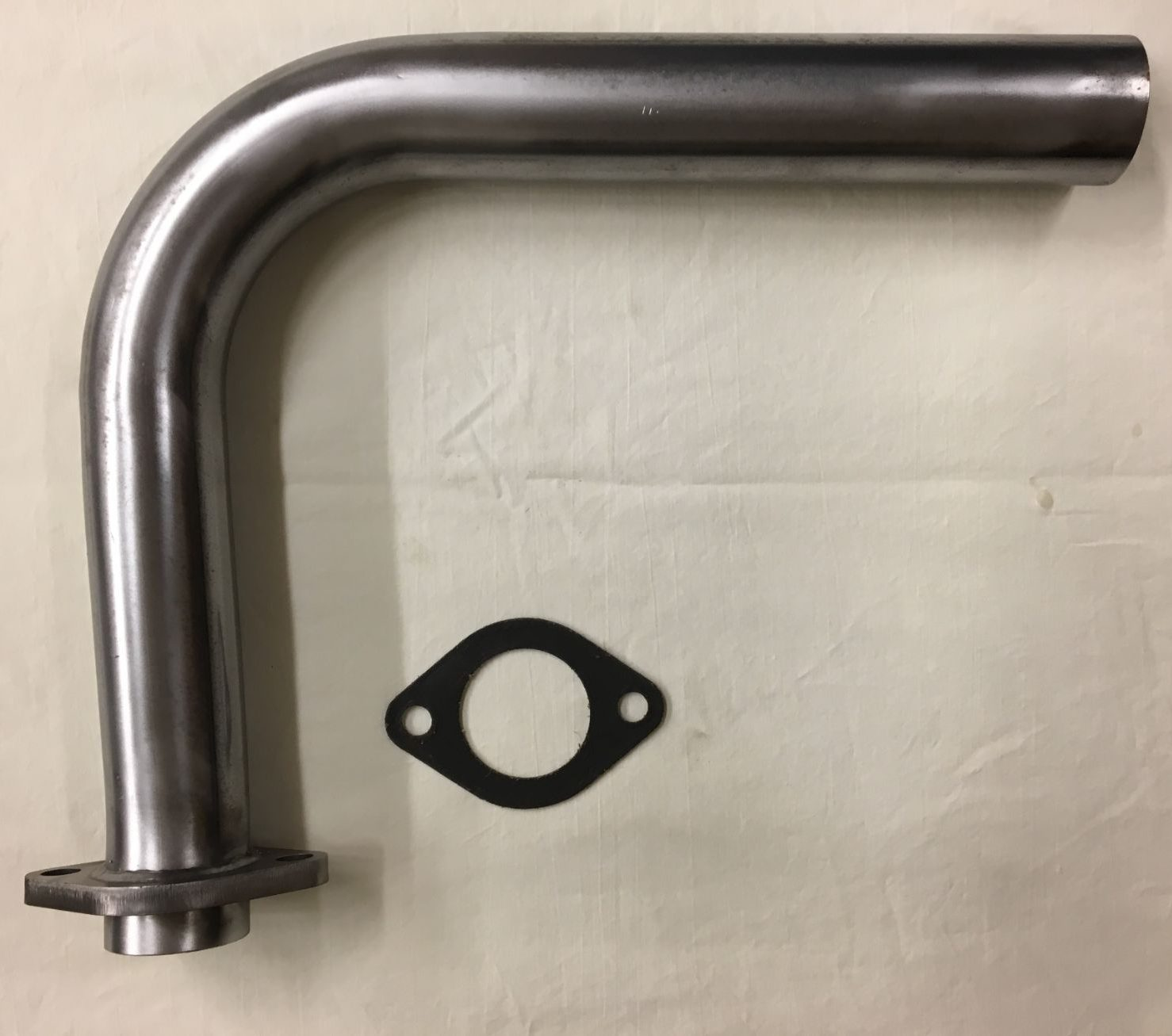 39-47 WC/TC 2-Bolt Exhaust Header Pipe