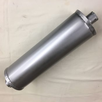 "Dodge WC/TC/WD/WF Truck Muffler 2""in / 1-7/8"" Out"
