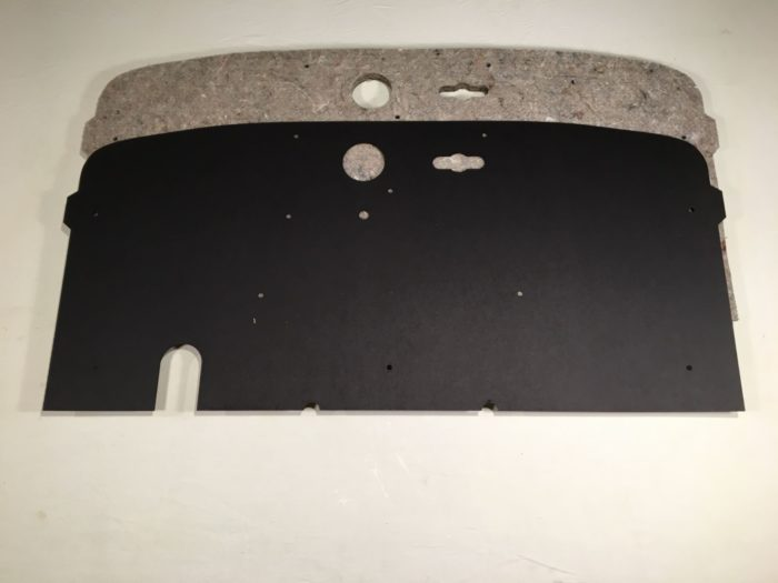 1935 firewall liner and backer pad