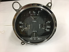 37-38 Dodge Gauge Cluster after restoration