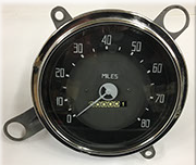 37-38 Dodge Speedometer after restoration