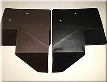 39-47 Custom Carpeted  Door/Cowl Trim W/Pockets R/L Set