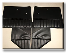 39-47 Custom Pleated  Door/Cowl Trim W/Pockets R/L Set