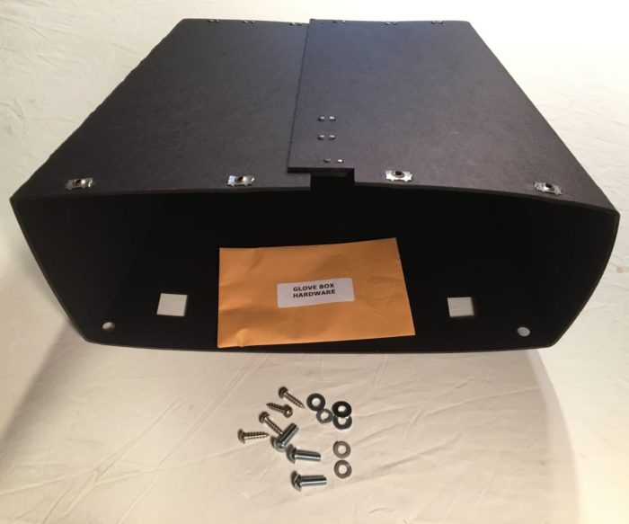 39-47 DODGE TRUCK GLOVE BOX WITH HARDWARE