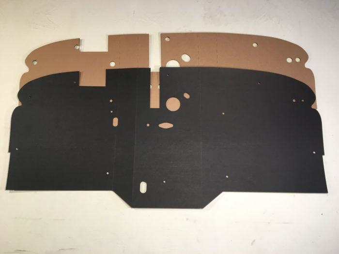 39-47 Firewall Liner and Backer Pad