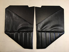 39-47 Pleated Cowl  Trim W/map Pockets