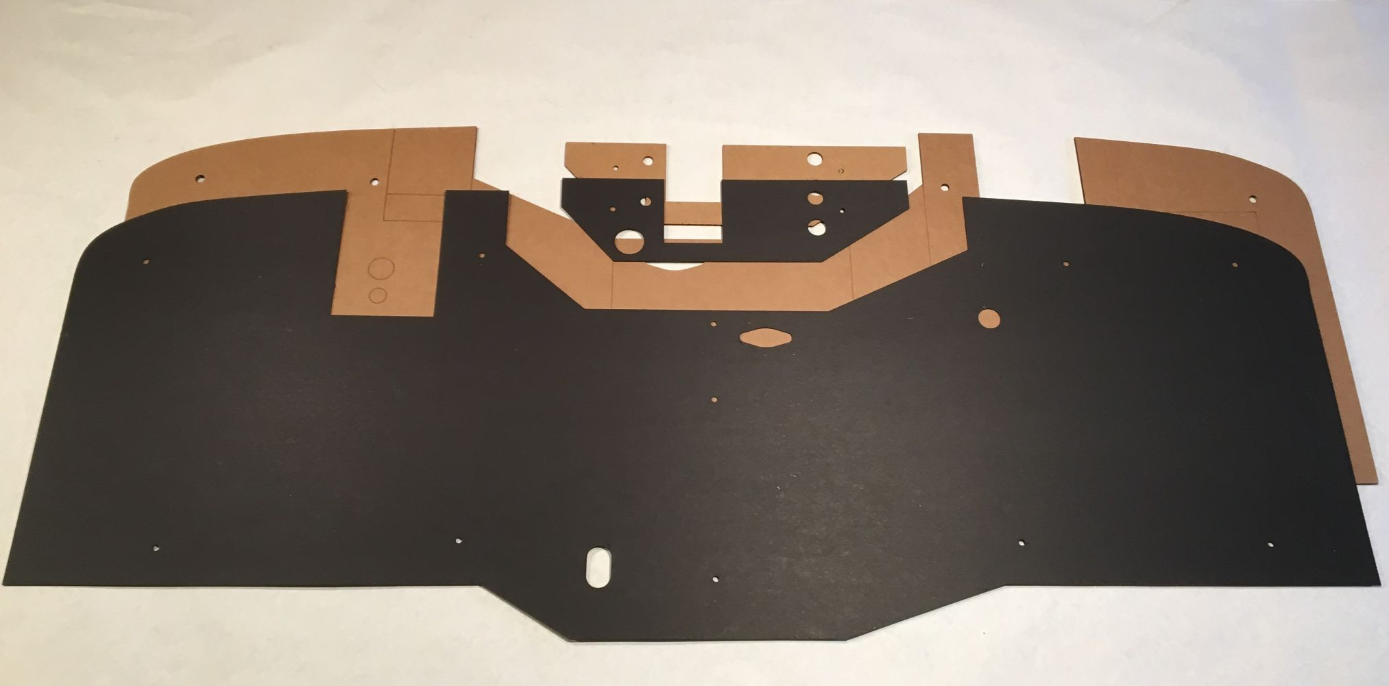 48-53 Dodge Truck Firewall Liner And Backer Pad
