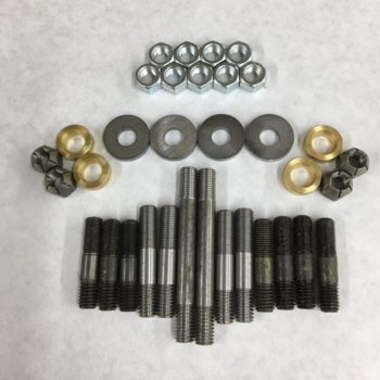 Intake And Exhaust Stud Bolt Washer Kit