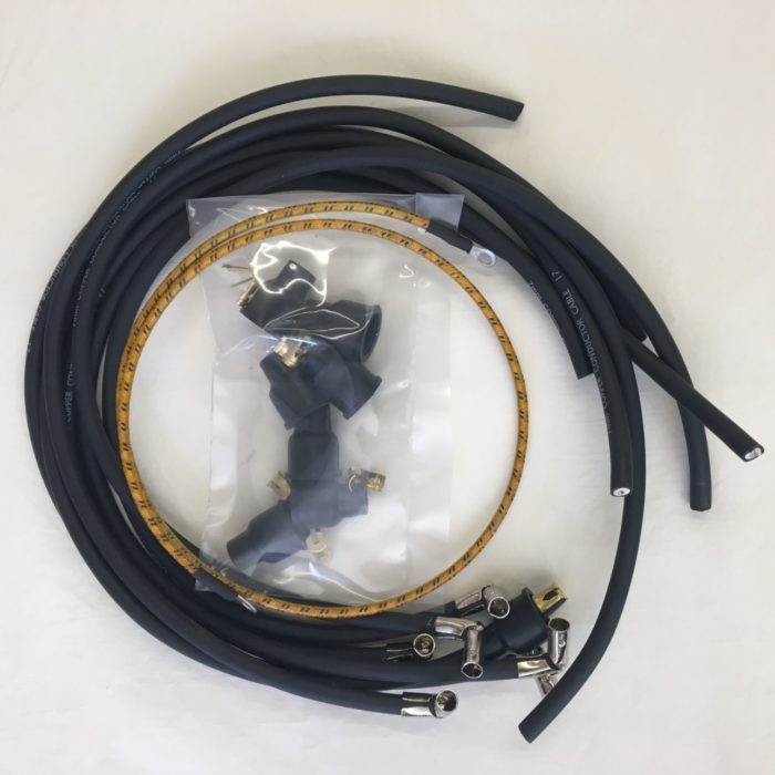ignition cable set, L6, wire