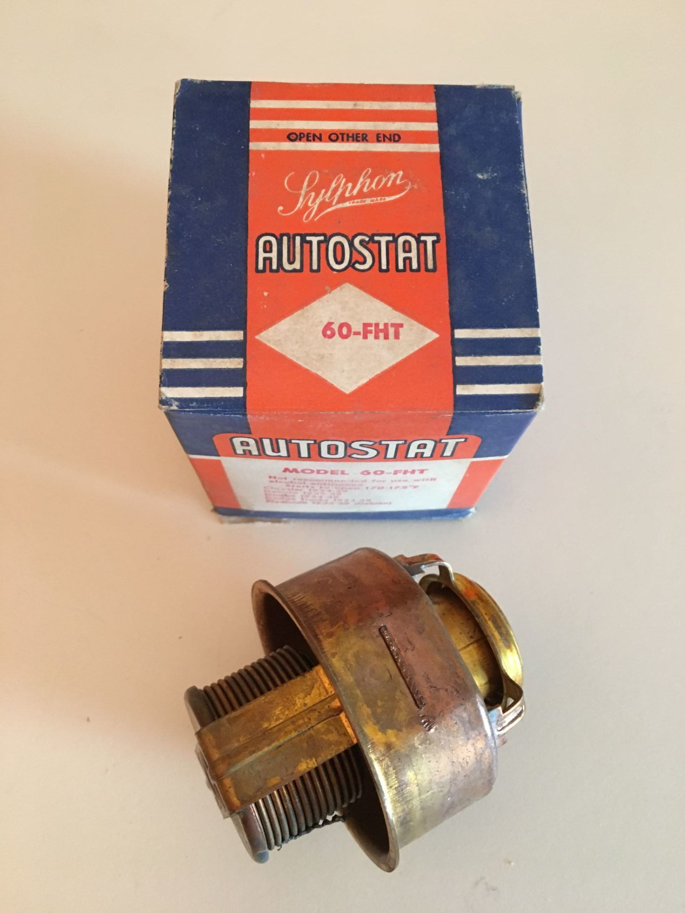 34-39 Dodge Truck NOS Thermostat 170-175 Degrees
