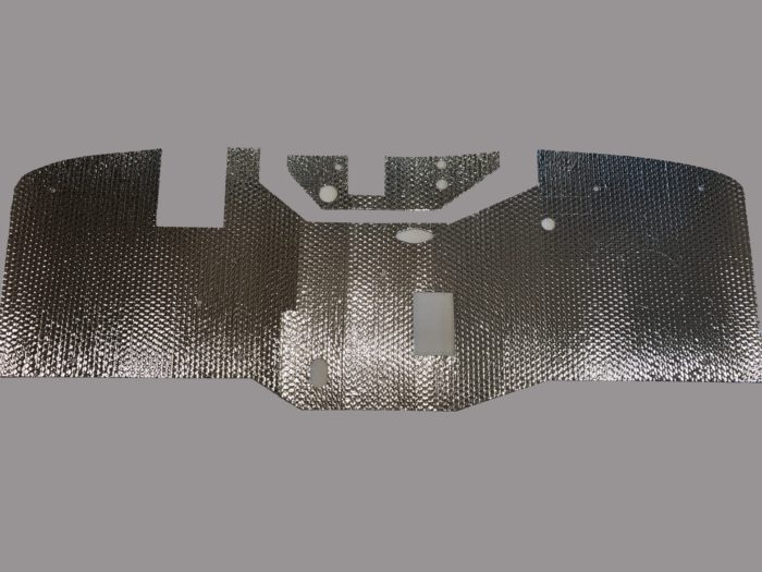 48-53 Firewall Heat Shield Deflector Pad