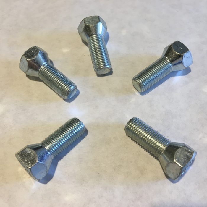 HALF TON RH WHEEL LUGS-SET OF 5