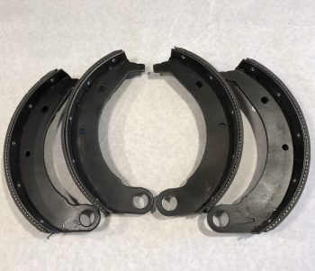 11″ Rear Brake Shoe Set Of 4 (Riveted)