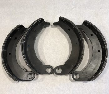 10″ Front Brake Shoe Set (Riveted)