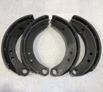 11″ Rear Brake Shoe Set 48-58 (Riveted)