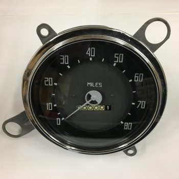 1937-38 Dodge Truck Speedometer And Gauge Cluster