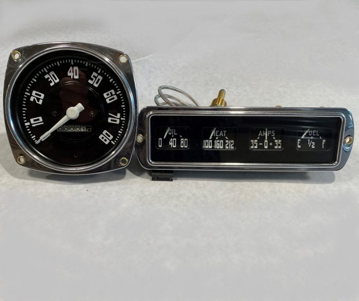48-50 DODGE TRUCK SPEEDO_GAUGE CLUSTER