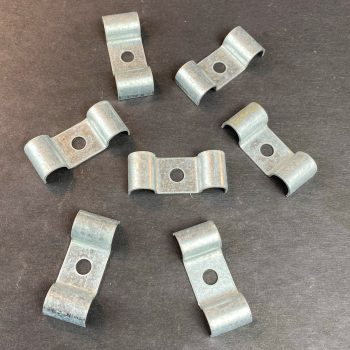 Double Fuel / Brake Line Clip 7/16″ – 1 Each