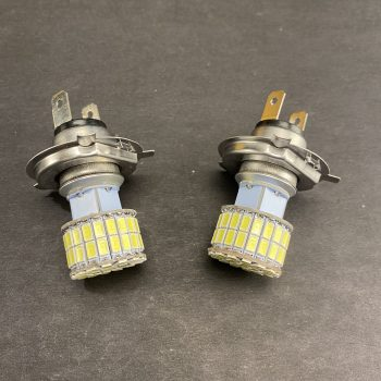 6V H4 LED 3000K Headlight Bulbs – 2 Each