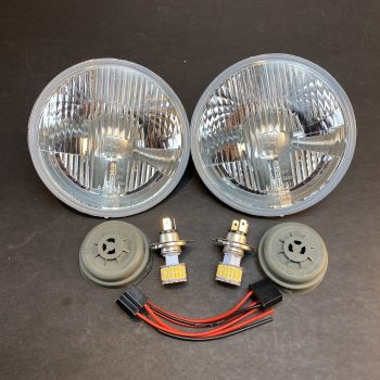 Lighting – 6V H4 LED Headlight Conversion Package – Complete
