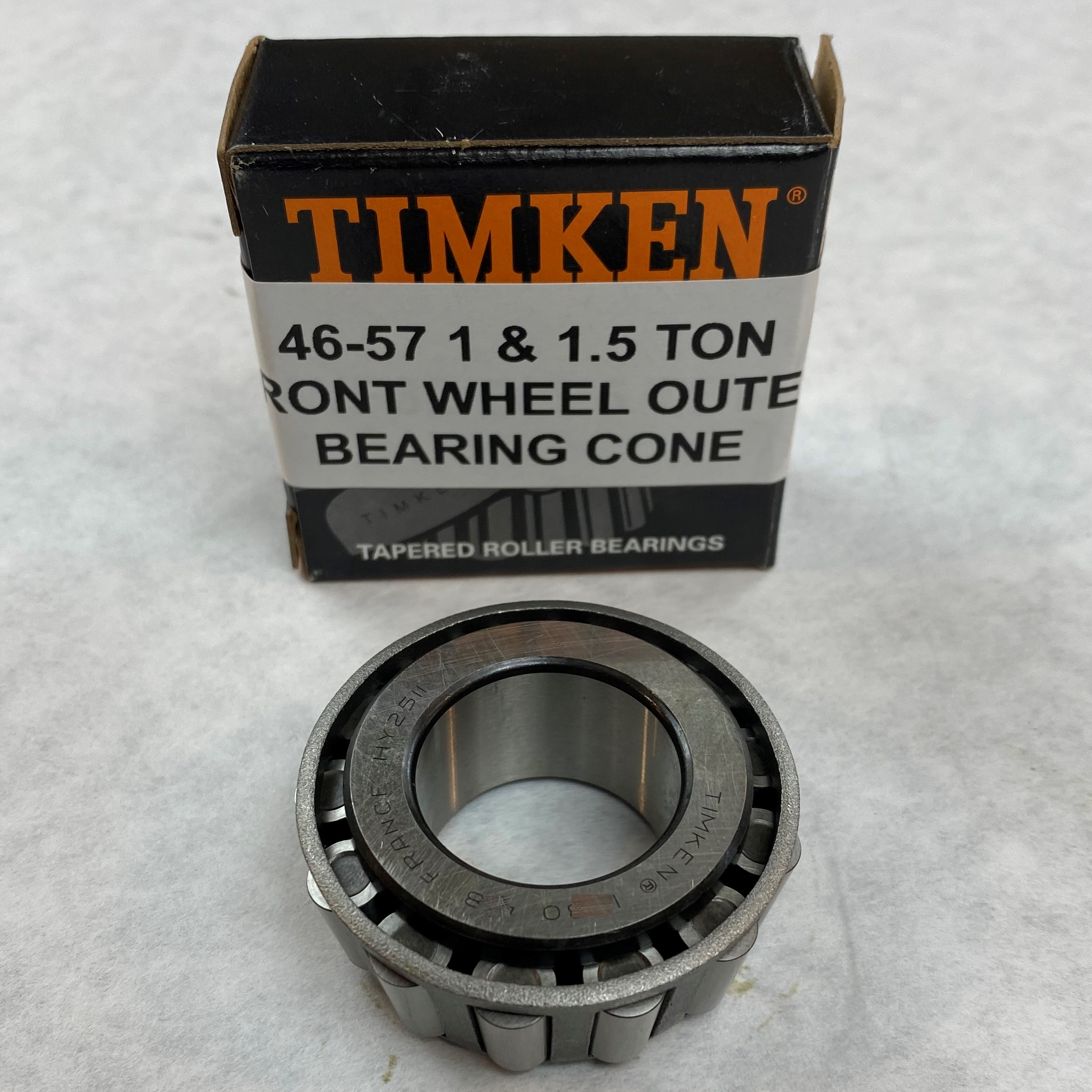 46-57 1 & 1.5 Ton Front Wheel Outer Bearing Cone – Timken